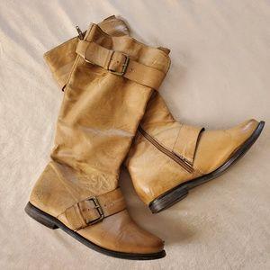 Just Fab Distressed Tall Boots